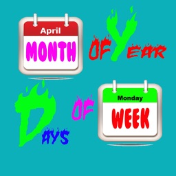 Kids Calendar Learning-Days And Months Learning