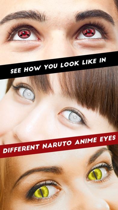 Sharingan Eyes- Eye Color Changer for Naruto Game
