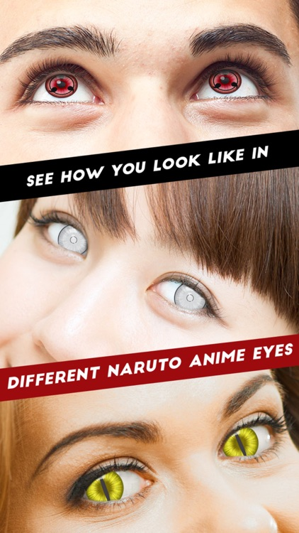 Sharingan Eyes- Eye Color Changer for Naruto Game