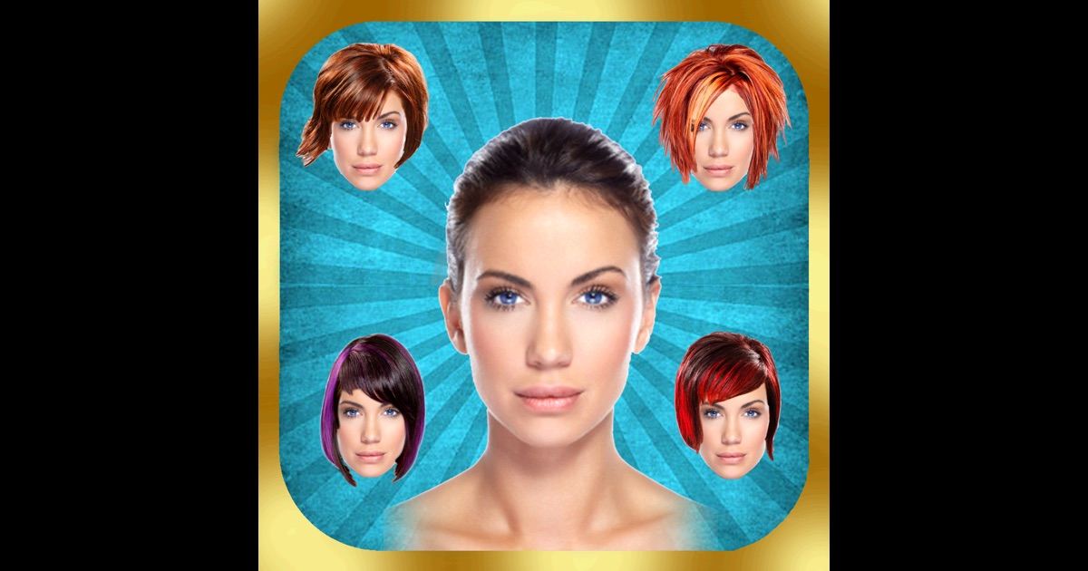 Fine Your Perfect Hairstyle Try On New Look In Seconds On The App Store Short Hairstyles Gunalazisus