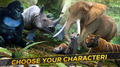 Animal SIM . Wild Animal Simulator Game Free Screenshot on iOS
