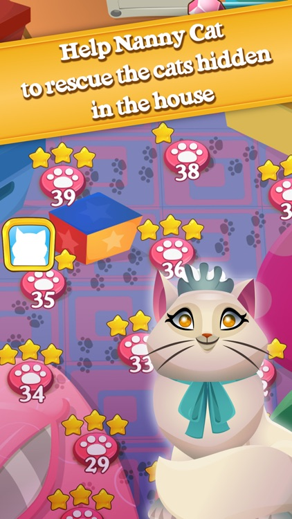 Cute Cats Match-4