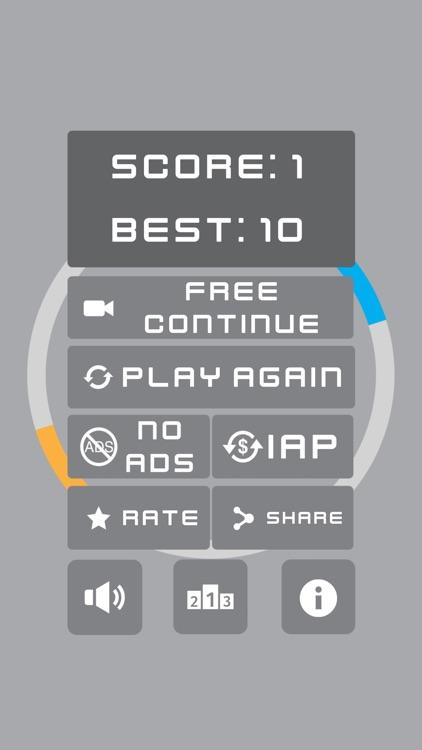 Swivel Pong 2 - Color Ball screenshot-4