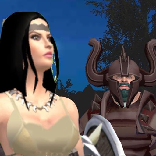 Viking Knights vs  Amazons