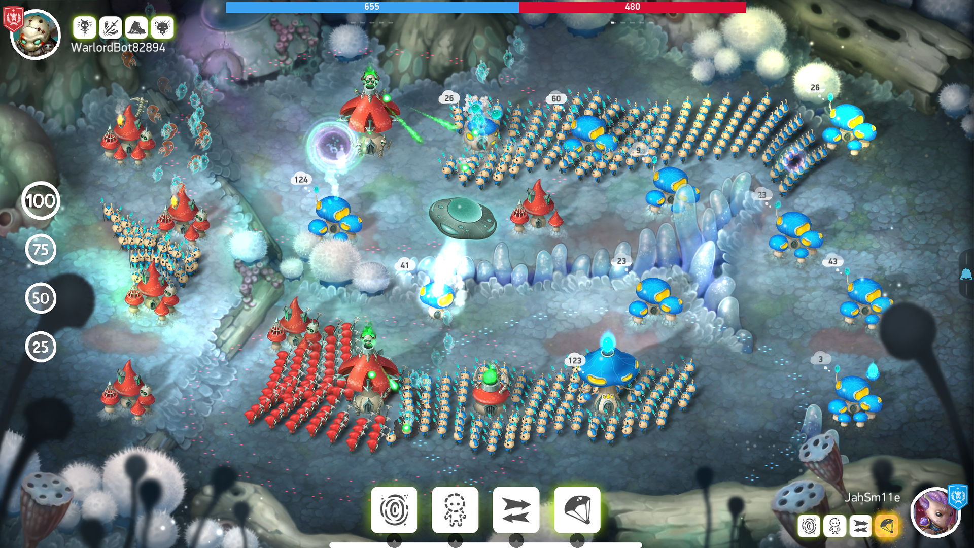 Mushroom Wars 2 - RTS meets TD screenshot 11