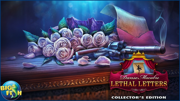 Danse Macabre: Lethal Letters - A Mystery Hidden Object Game screenshot-4