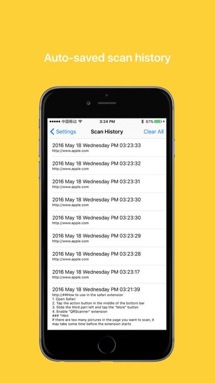 EasyQR - Efficient QR and barcode reader & maker screenshot-4