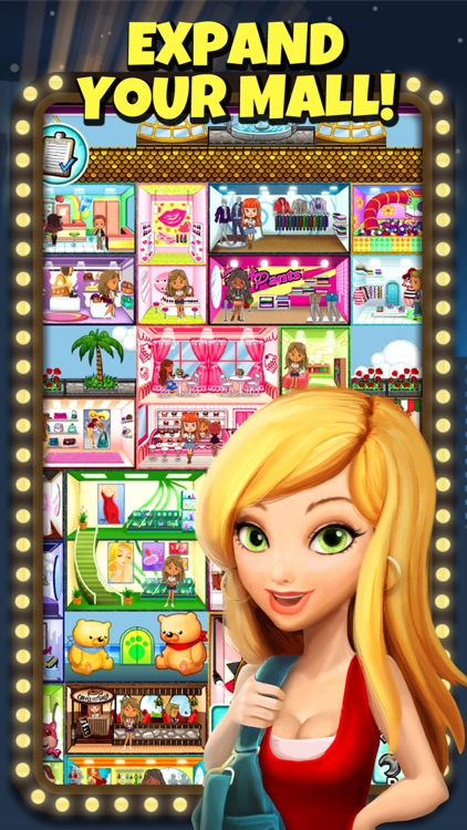 Fashion Shopping Mall — The Dress Up Game screenshot-4