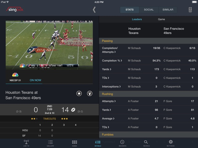 SlingPlayer Basic for iPad on the App Store