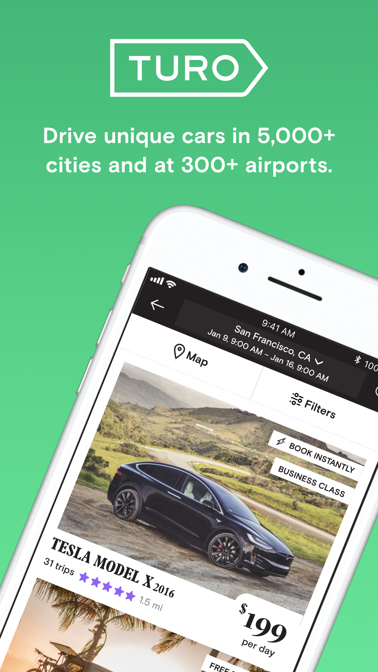 Turo - Better Than Car Rental Screenshot