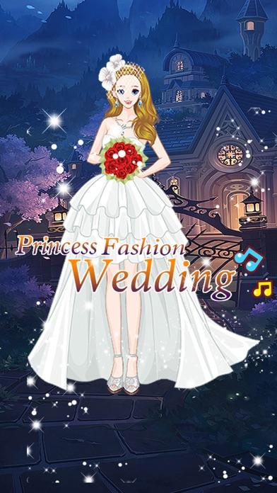 Princess fashion wedding - Girls Make up games screenshot four