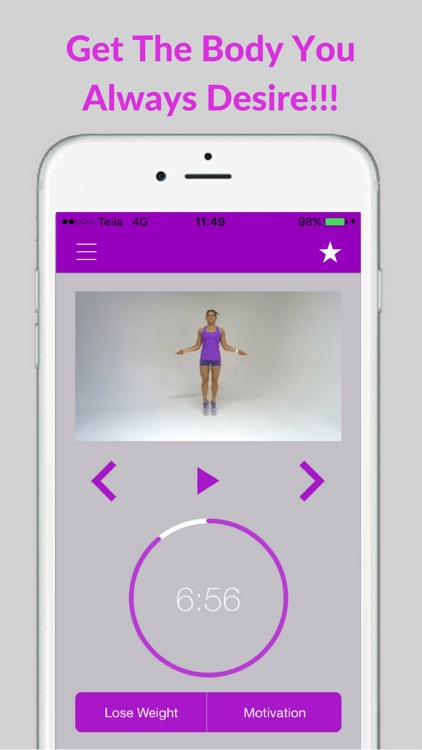 Jump Rope Workout and Jumping Training Exercises screenshot-4