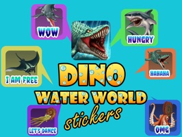 Dino Water World stickers are the stickers of our popular game Dino Water World