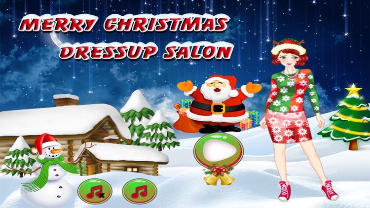 merry christmas dressup salon girls games free - Merry Christmas Games