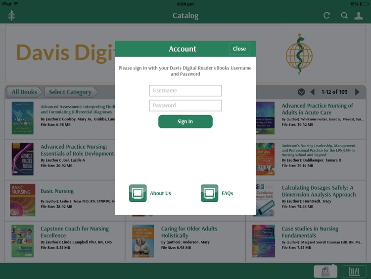 Davis Digital Reader