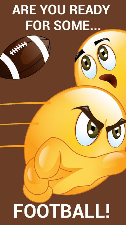 Football Emoticon Stickers