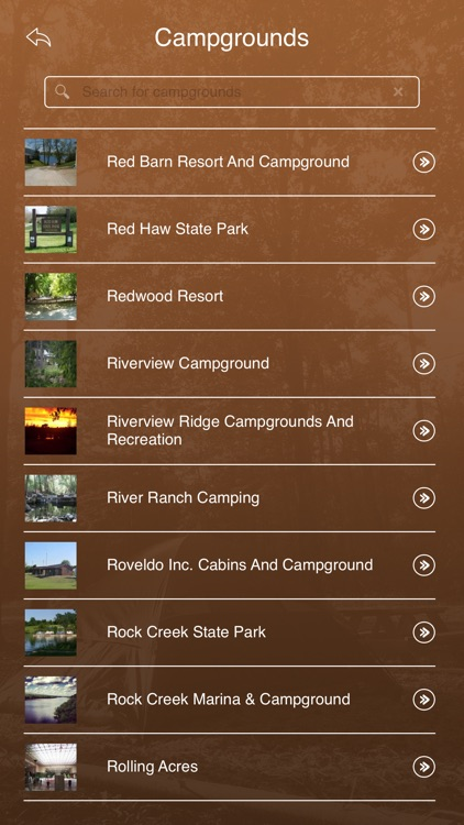 Iowa Campgrounds and RV Parks screenshot-2