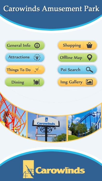 Best App For Carowinds Amusement park Guide