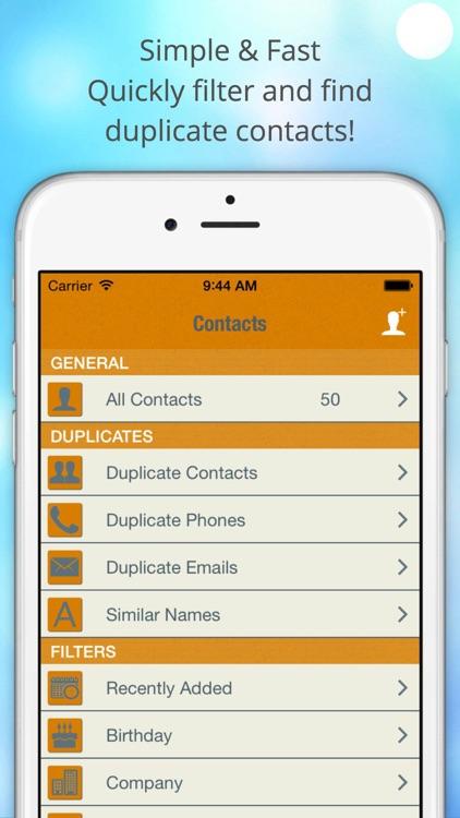 ContactManager Pro – Remove & Merge Duplicate Contacts screenshot-3