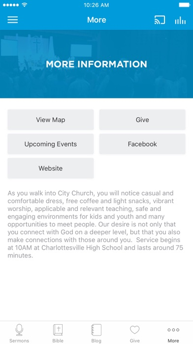City Church Charlottesville screenshot 3