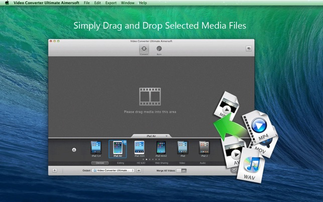 Video Converter Aimersoft on the Mac App Store Windows