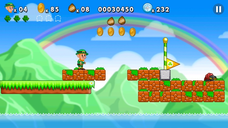 Lep's World Plus - super best platformer games screenshot-4