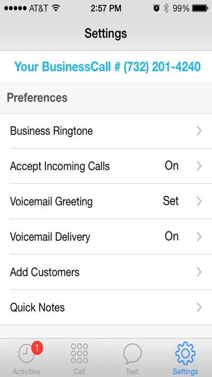 BusinessCall 2nd Line screenshot-3