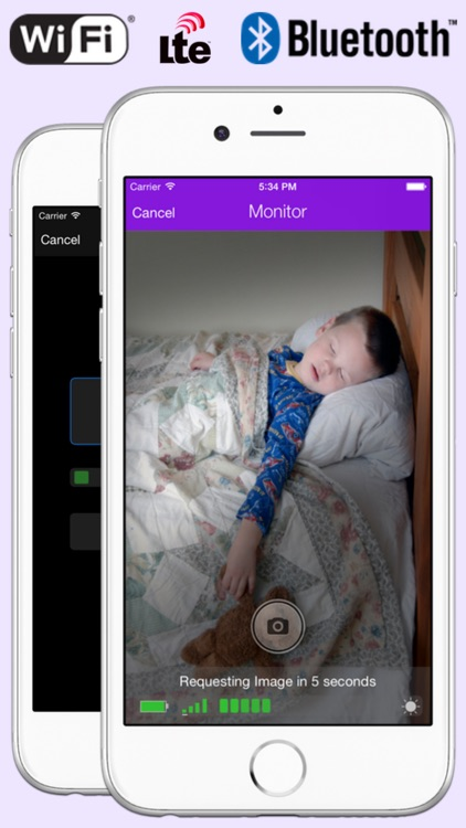 iSitter Baby Monitor - WiFi / Bluetooth / LTE