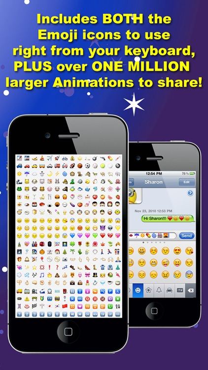 Fun Animations for MMS Text Messaging - 1 MILLION 3D Animated Emoticons screenshot-3