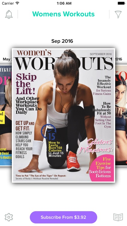 Women's Workouts Magazine