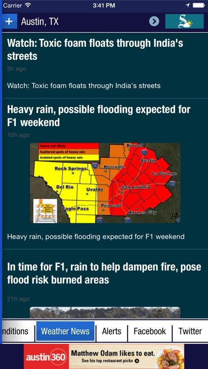 Austin American-Statesman Weather screenshot-3