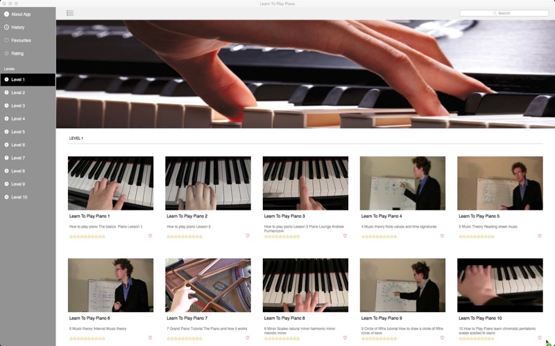 Learn To Play Piano Screenshot