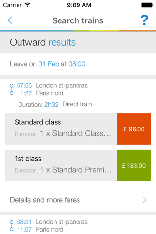 Voyages-sncf UK screenshot 3