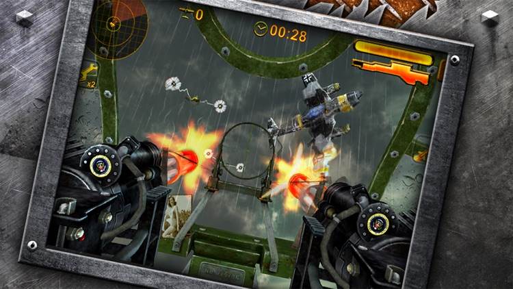 Turret Commander - shoot from B17 top machine gun screenshot-1