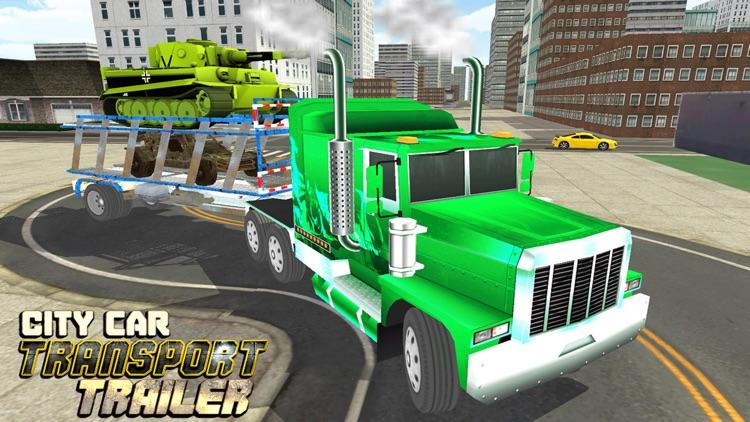 Car Transporter Delivery Truck 3D: Transport Tank