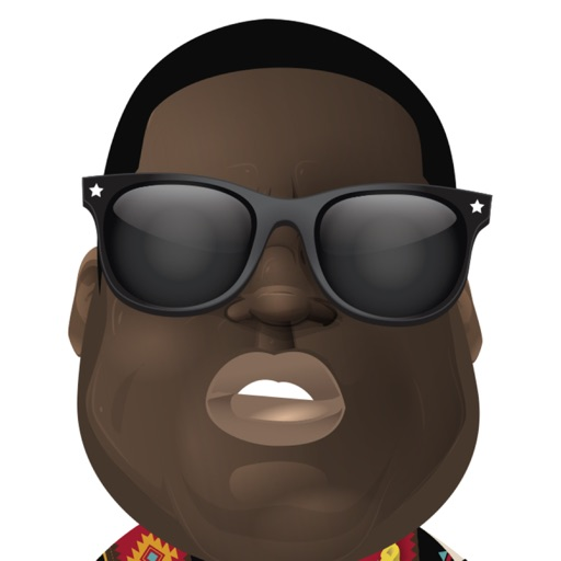 The Notorious B.I.G. Sticker Pack