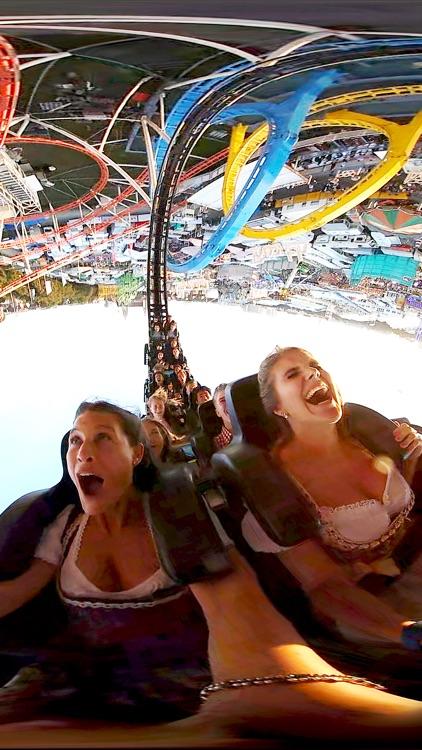 VR Oktoberfest Girls Have Fun Virtual Reality 360