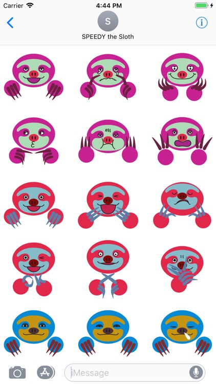 COLORFUL SLOTH FRIENDS screenshot-3