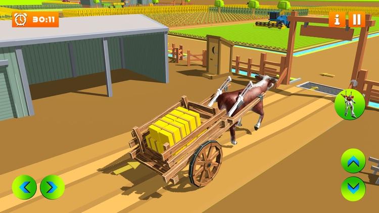 Farm Village Robot Transform screenshot-4