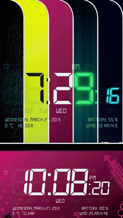 Alarm Clock - Digital, Music Alarms & Flashlight screenshot-3