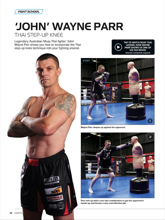 International Kickboxer magazine