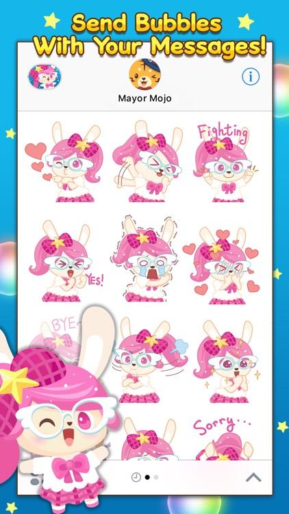 Bubbles Pop Stickers