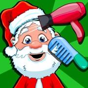 Christmas Salon Spa & Hair Makeover Games for Kids