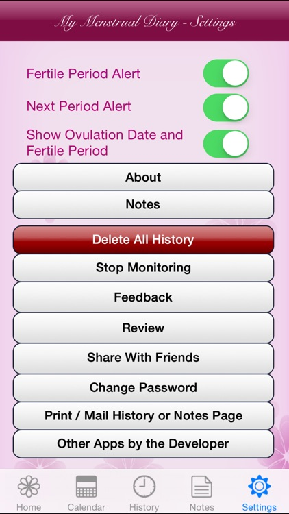 My Menstrual Diary screenshot-4