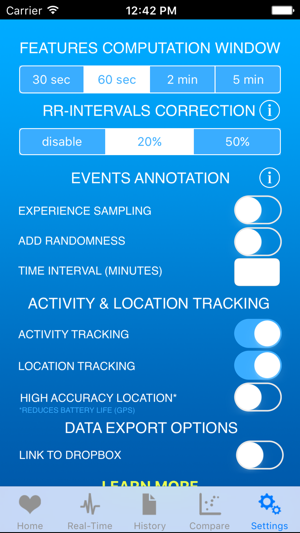 Heart Rate Variability Logger on the App Store