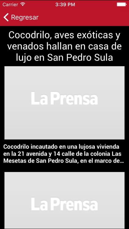 Diario La Prensa Honduras screenshot-3