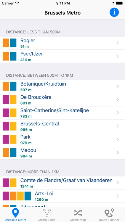 Brussels Metro screenshot-0