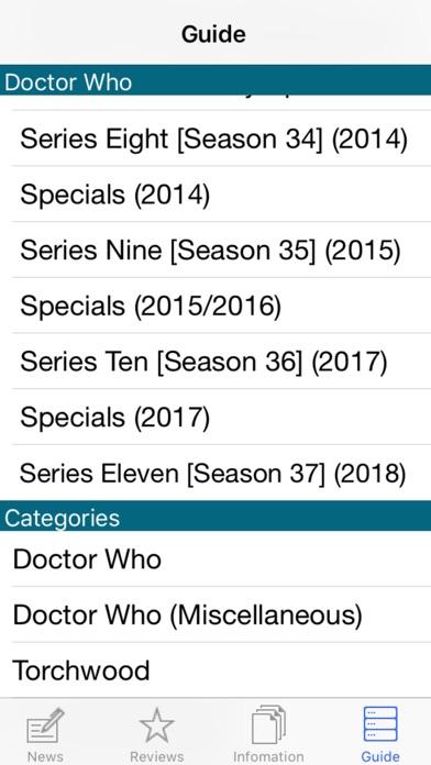 NITAS - Doctor Who News screenshot one