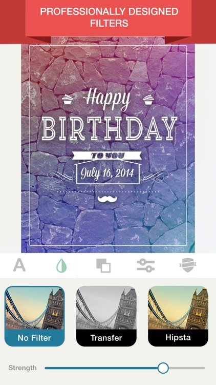 Birthday Card Maker-Birthday Countdown Invitation