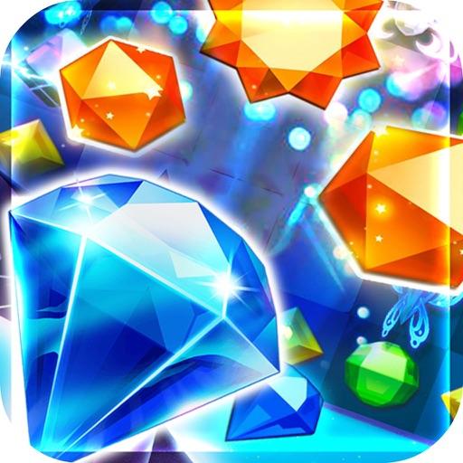 Gem Treasure Ilands- Jewel Quest Free